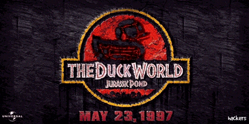 "Image de ""The Duck World: Jurassic Pond"""