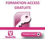 Vodeclic - Formation Access 2007