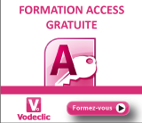 Vodeclic - Formation Access 2010