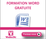 Vodeclic - formation Word 2007