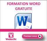 Vodeclic - formation Word 2010