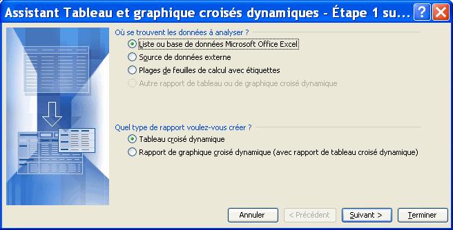 Excel Tableau Croise Dynamique